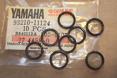 <em>YAMAHA</em> XS500  TX500  GENUINE  NOS  VALVE  GUIDE  O RING  SET    93210