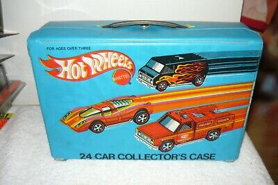 HOT WHEELS REDLINE flying colors  COLLECTORS CASE 24 CAR  1975