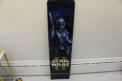 Vintage 2002 Star Wars II 2 Attack Of The Clones Theater Advert Board Boba-Fett