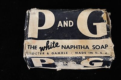Vintage Procter   Gamble Bar White Naphtha Soap In Package Original Product