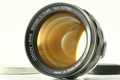 【MINT w/ Cap】 Canon 50mm F0.95 Dream Lens For 7 7s Leica LTM L39 From JAPAN 1279
