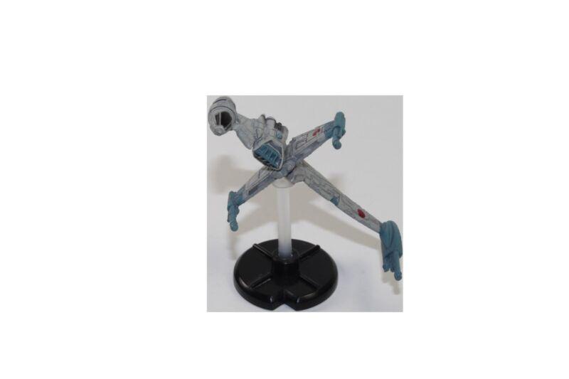 Star Wars Mini 18/60 B-Wing Starfighter Light Side 6 Starship Battle War Games