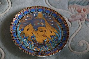 Legends of the Nile Nefertiti Royal Worcester plate