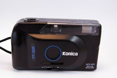 Konica FF-35R Point and Shoot Film Camera
