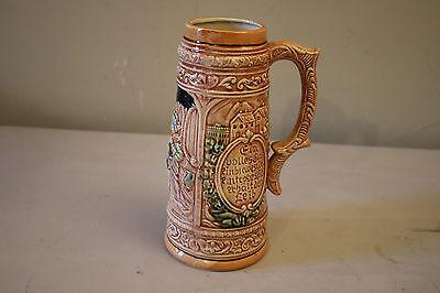 Vintage German Ceramic Beer Stein Mug Made in Japan