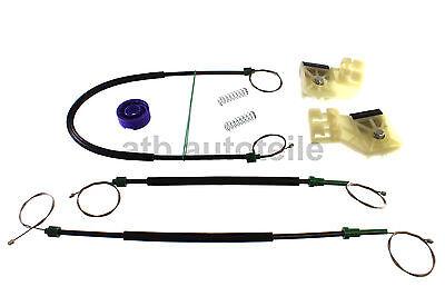 Elevalunas Juego de Reparación Kit Clip Para VW Polo 9N 9N2 9N3...