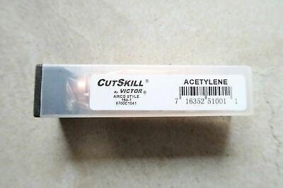 12 New Cutskill By Victor Cs1641 Acetylene Torch Tip 164-1 1 Cutting Tip Tweco