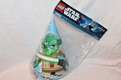 Star Wars Lego Party Supplies (NEW IN PACKAGE STAR WARS LEGO  8- PARTY HATS   PARTY)