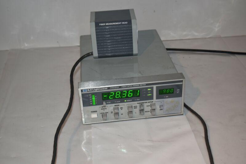 ILX FPM-8210 LIGHTWAVE FIBER OPTIC POWER METER (NU3)
