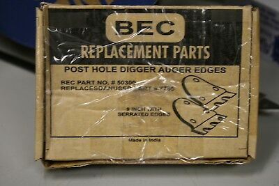 9 Post Hole Digger Auger Edges Serrated