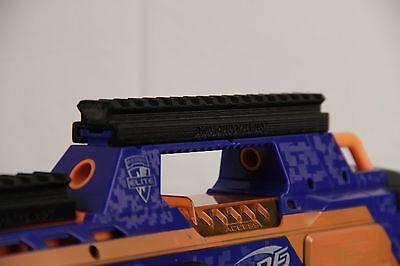 3D Printed – Nerf to Picatinny Top Rail Mount for Nerf Rapidstrike CS-18 Gun