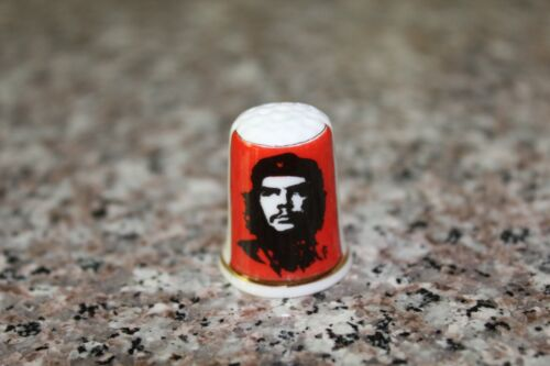 Che Guevara Thimble - Bone China - Made in Great Britain - Excellent Condition