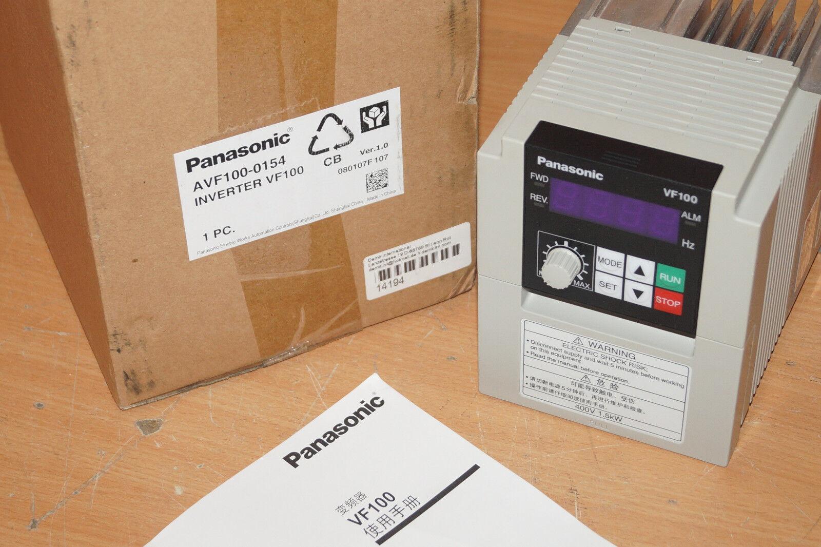 Panasonic vf200 manuals.