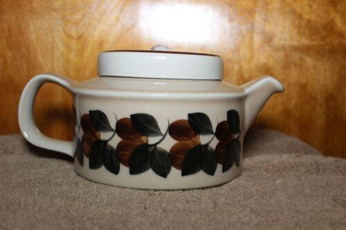 ARABIA FINLAND RUIJA TROUBADOUR 4 Cup Teapot Lid Infuser