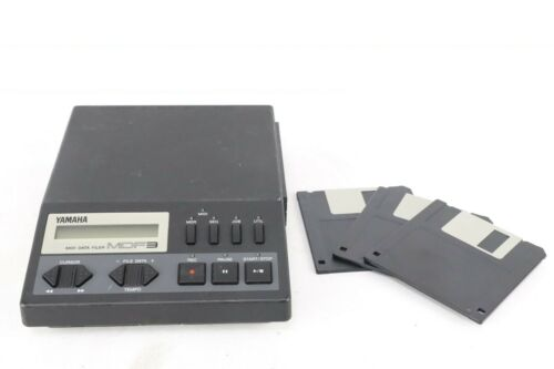 Yamaha MDF3 MIDI Data Filer & Sequencer W/2HD FD From Japan[Excellent+]