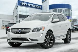 2016 Volvo XC60 T5, BACKUP CAM, LEATHER, HEATED SEATS, PANO ROOF