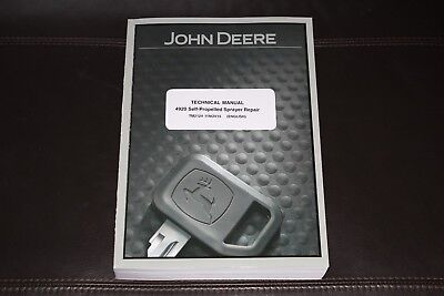 John Deere 4920 Self-propelled Sprayer Service Repair Manual Tm2124
