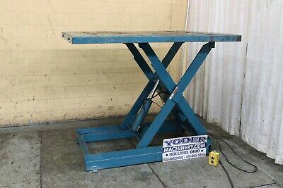 2000 Lbs Advance Hydraulic Scissor Lift Table Yoder 69710