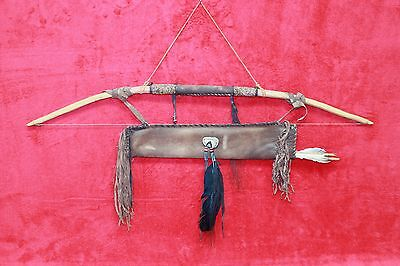 Native American Bow with Quiver