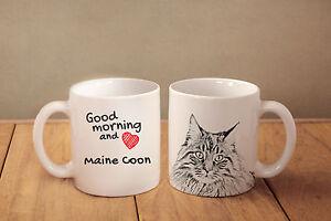 coffee maine coon mug