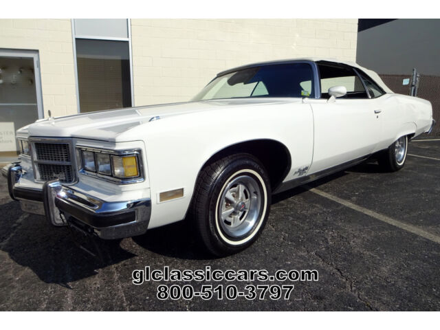 1975 Pontiac Bonneville Grand Ville Convertible 455ci Big Block V8 Low Reserve