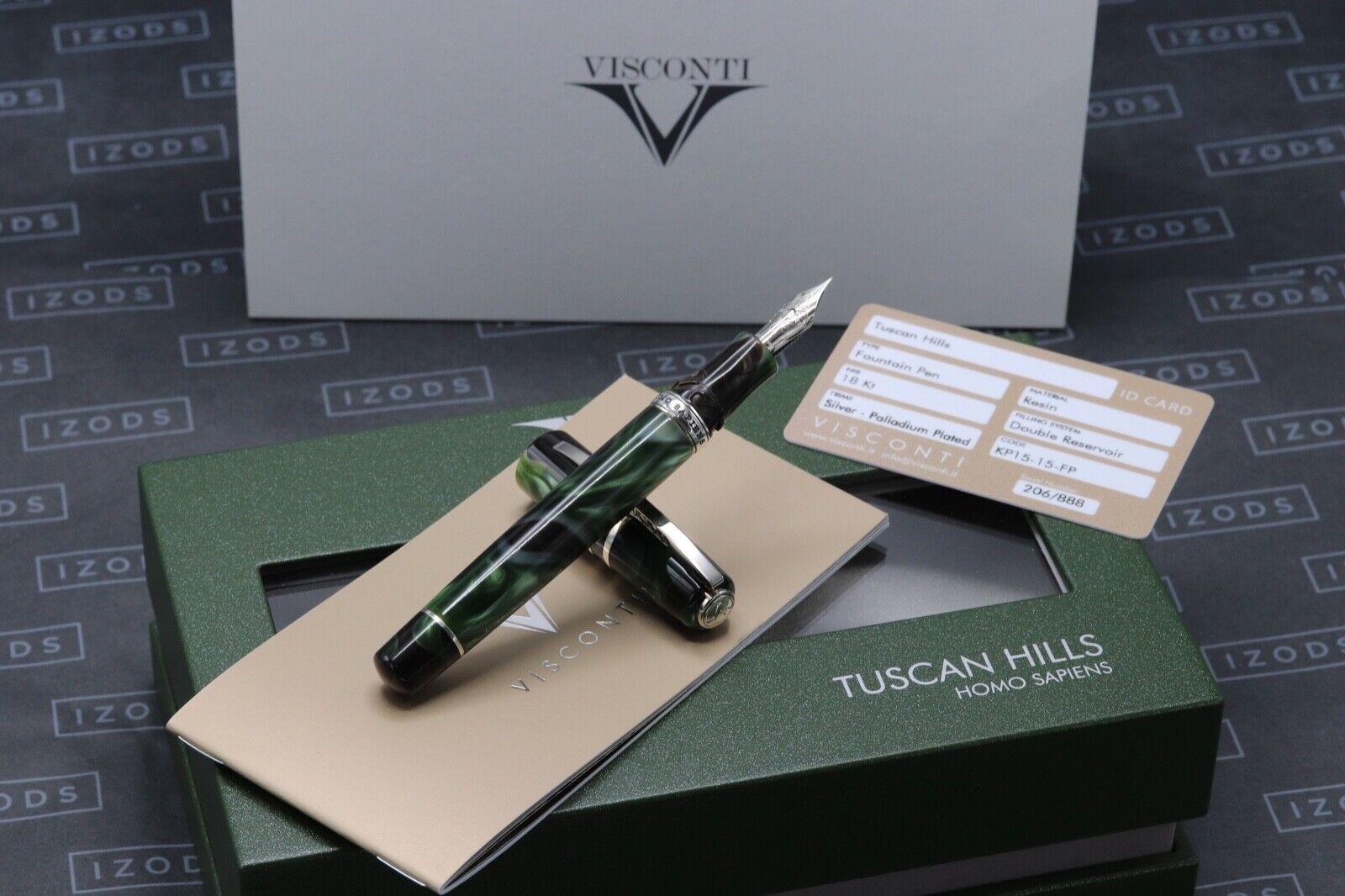 Visconti Homo Sapiens Tuscan Hills Limited Edition Fountain Pen - EF - UNUSED
