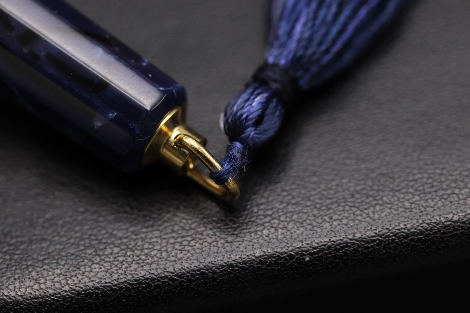 Omas Princess Blue Royale Celluloid Fountain Pen 9