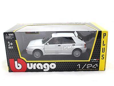 Bburago LANCIA DELTA HF INTEGRALE EVO 2 Off-white 1/24 Diecast Toys Car