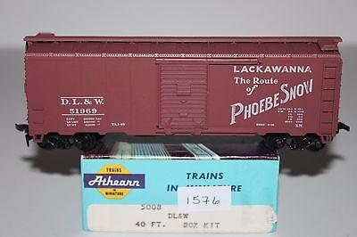 HO Scale Athearn 5008 Lackawanna 40' Single Door Boxcar 51969  L1576