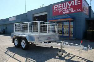 $2800 NEW Galvanised 8x5ft Tandem Trailer w/FREE 600mm Cage Wingfield Port Adelaide Area Preview