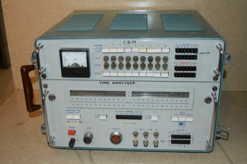 DESNA 02 MADE IN USSR TIME ANALYZER (?)
