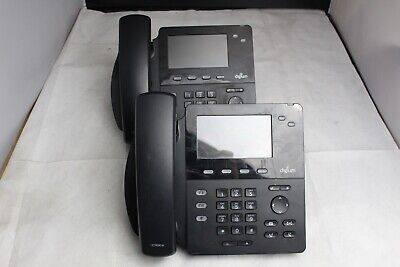 Lot Of 2 Digium D62 2-line Sip Color Lcd Business Office Ip Phones 1teld062lf