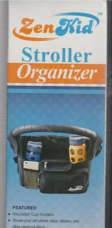 NEW IN BOX: UNIVERSAL FIT: Zen Kid Stroller Organizer