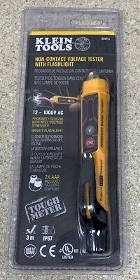 Klein Tools Ncvt-3 Non-contact Voltage Tester With Flashlight New