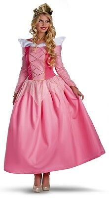 Aurora Disney Princess Sleeping Beauty Fancy Dress Up Halloween Adult Costume (Disney Sleeping Beauty Adult Costume)