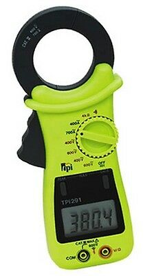 Tpi 291 Manual Ranging Amp Plus Digital Clamp-on Meter 700a Ac Current-use 293