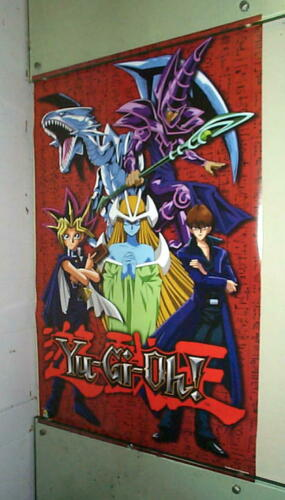 YU GI OH! Vintage 1996 POSTER Dragon LAST ONE