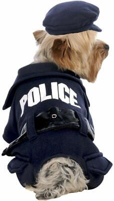 Costumes With Dogs (Stellar Pet Boutique Cute Police Dog Halloween Costume with)