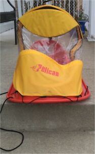 Sled for baby 0-24 months