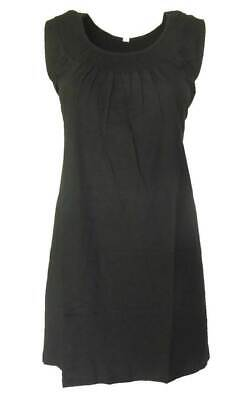 Schwarzes Damen-kleid-shirt (SHEEGO Damen Kleid Shirtkleid schwarz GR. 40 42 44 46 48 50 52 54 NEU - K18)