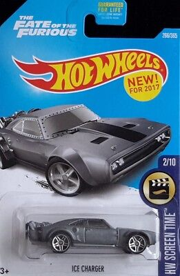 Hot Wheels 2017 #266 Ice Charger (DTW96)