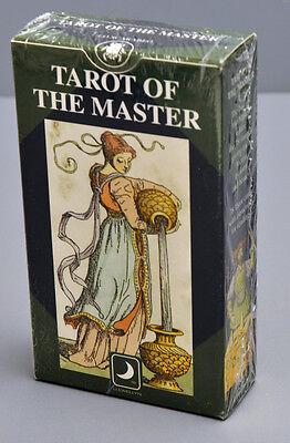 TAROT OF THE MASTER - 1893 VACCHETTA REPLICA 78 CARDS - NIB