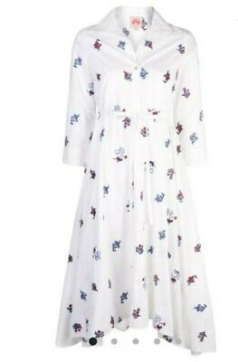 NEW Le Sirenuse Floral Shirt Dress Size 46