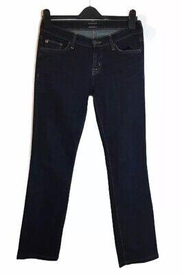 Hudson Dark Blue Denim Jeans High Waisted 27 Straight