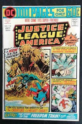 Justice League of America #113 DC Comics Bronze Age! Len Wein! VG- 3.5 20% OFF!