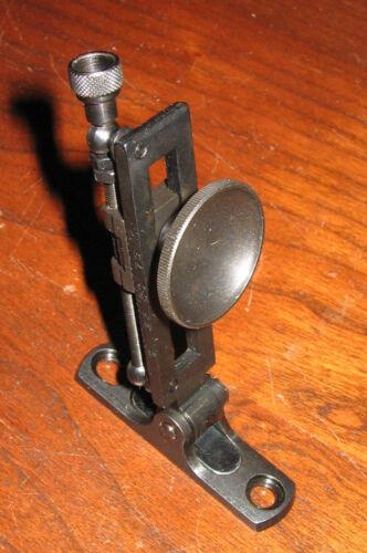 Mid-Range Creedmoor Vernier Tang Sight - Rolling Block, Sharps, etc. -NOS