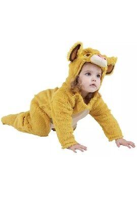 König der Löwen Simba Kinderkostüm Karneval Fasching