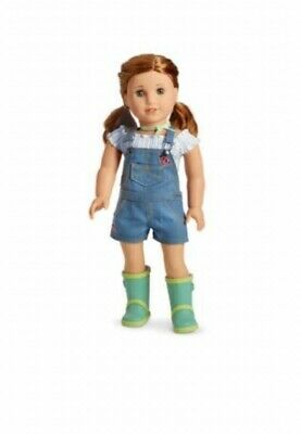 American Girl Doll Blaire's Garden Gardening Outfit Boots Overalls No Ribbon/Box
