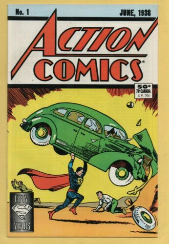 Action Comics #1 DC Direct Sales Edition Reprint 1988 NM-