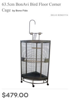 Bird cage in good condition new $480 sell $200